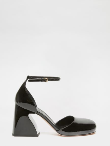 Patent leather court shoes Sportmax