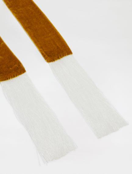 Velvet scarf
