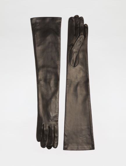 Long Nappa leather gloves Sportmax