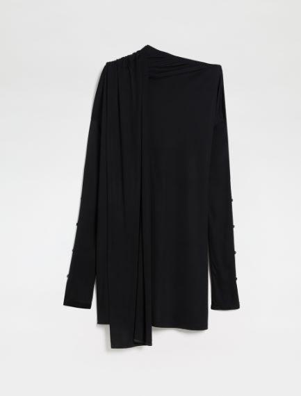 Jersey short dress