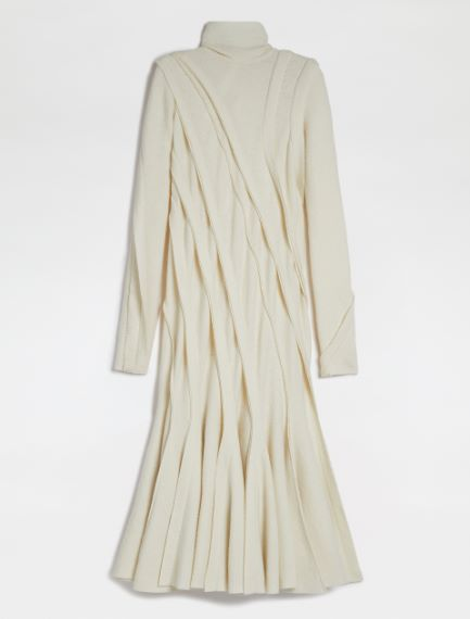 Jersey dress with form-fitting cuts Sportmax