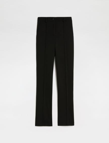 Slim jersey trousers