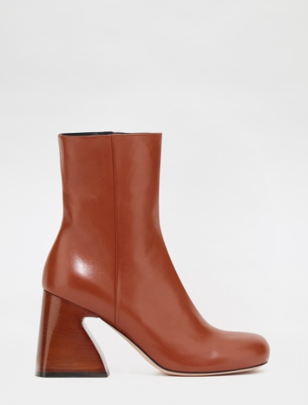Nappa leather ankle boots Sportmax