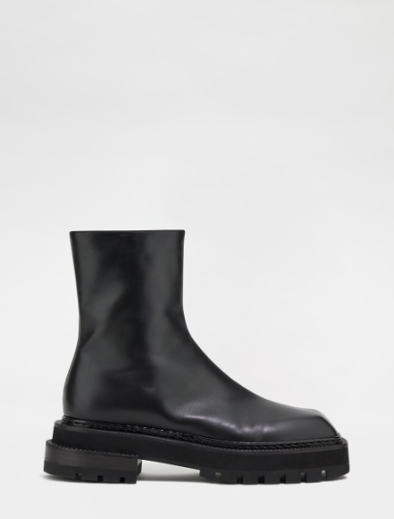 Calfskin ankle boots Sportmax