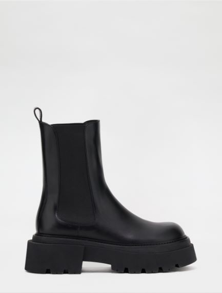 Semi-gloss Chelsea ankle boots Sportmax