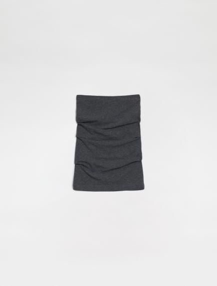 Sleeveless jersey top