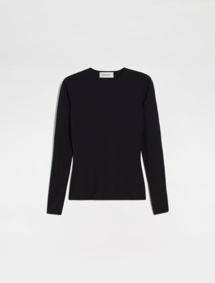 Skintight jersey sweater Sportmax