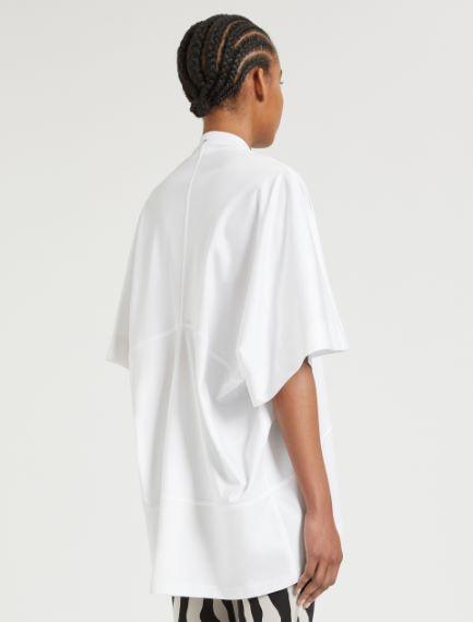 Tunic with kimono sleeves