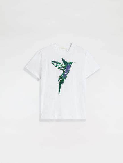 Sequin embroidery T-shirt Sportmax