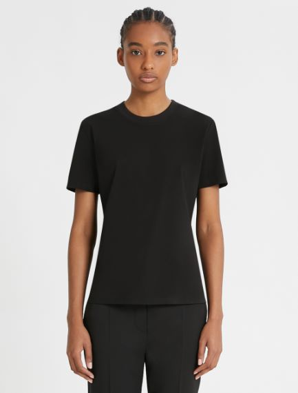 Stretch jersey T-shirt Sportmax
