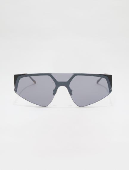 SM0034 Nylon and metal mask glasses