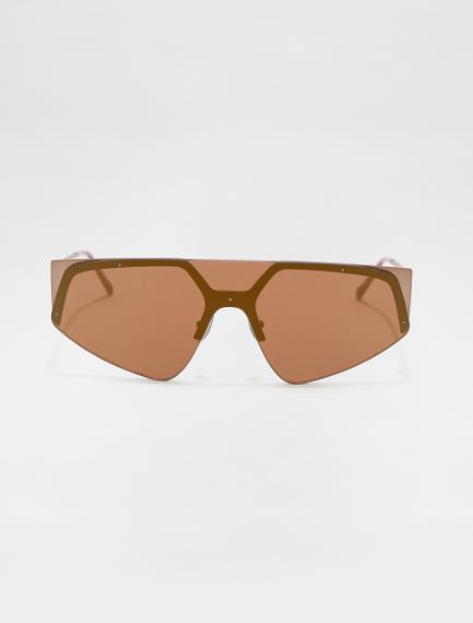 SM0034 Nylon and metal mask glasses Sportmax
