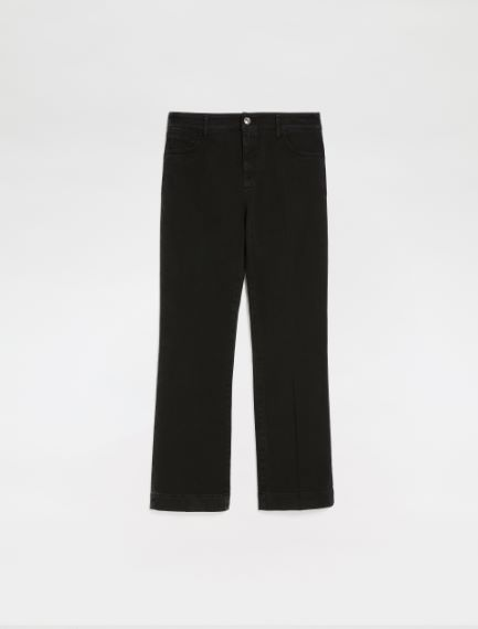 5-pocket mini-flare cropped jeans Sportmax
