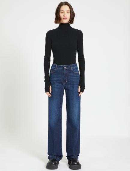 Wide-fit 5-pocket trousers Sportmax