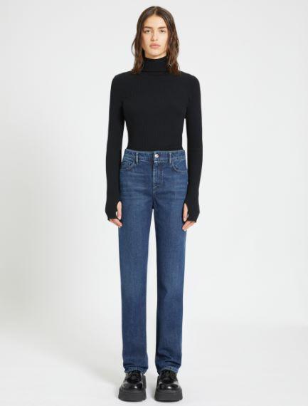 Wide-fit slub jeans Sportmax