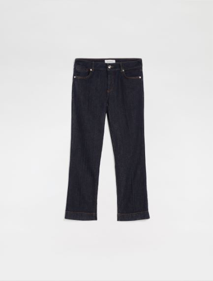 5-pocket mini-flare cropped trousers Sportmax