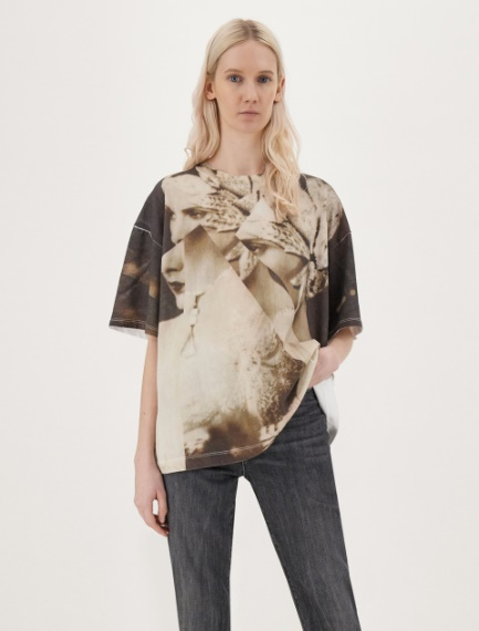 Printed T-shirt Sportmax